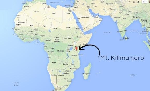 Гора килиманджаро где находится